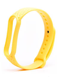 <b>Aксессуар Ремешок Activ для</b> Xiaomi Mi Band 5 Silicone Yellow ...