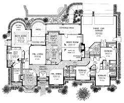 Impressive Large One Story House Plans   Large One Story Luxury    Impressive Large One Story House Plans   Large One Story Luxury House Plans