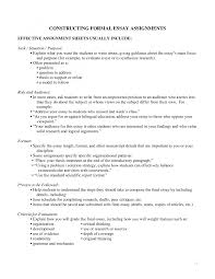 formal essay guidelines resume formt cover letter examples brief essay about yourself