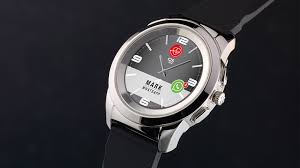ZeTime: World's first <b>smartwatch</b> with hands over <b>touchscreen</b> by ...