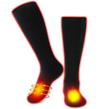 Electric Heated Socks <b>Rechargeable Battery Heating</b> Socks Thermal ...