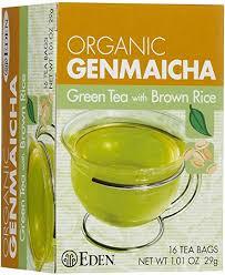 Eden Foods <b>Organic Genmaicha</b> Green Tea and Roasted <b>Brown</b> ...
