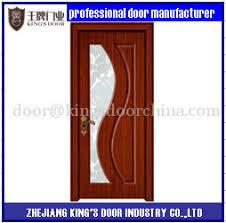 China <b>2017 New</b> Interior MDF <b>PVC</b> Wooden Single Main Door ...