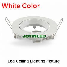 white ceiling lamp holder gu10mr16 led spot light fixturehalogen lighting fitting for ceiling spot lighting