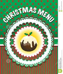 christmas menu template stock photos image 20750783 christmas menu template