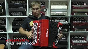 Roland FR 4XB <b>Цифровой баян Роланд</b> Впервые в России ...