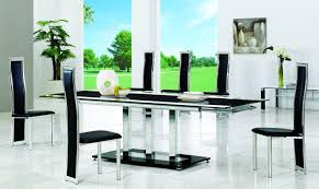 bowen brescia cm glass dining