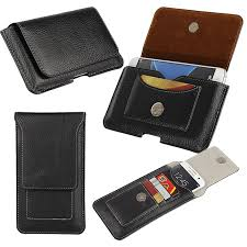 Leather Pouch Cool Belt Clip Mobile Phone Bag For Samsung ...