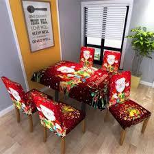 Christmas Tablecloth/Chair Cover Digital Printing Christmas ... - Vova