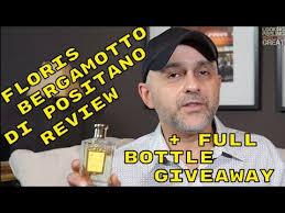 <b>Floris Bergamotto di Positano</b> Review + Full Bottle Giveaway ...