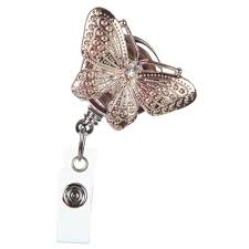 <b>Retractable</b> ID <b>Badge</b> Reel Jewelry | BooJee Beads