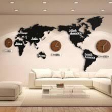 DIY 3D <b>деревянная карта мира</b> большие деревянные настенные ...