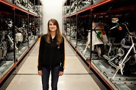 harley museum curator exhibits analytical skills harley museum curator exhibits analytical skills kristen jones senior curator at the harley davidson museum stands between aisles of