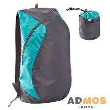 <b>Складной рюкзак Wick</b>, <b>бирюзовый</b> оптом под нанесение , Арт ...