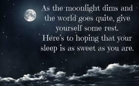 55 Good Night Quotes for Him | herinterest.com via Relatably.com