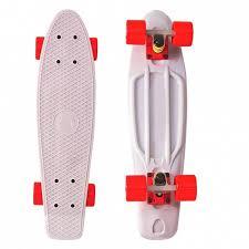 <b>Скейтборд Fishskateboard</b> 22 <b>Y</b>-<b>SCOO</b>, цвет розовый, артикул ...
