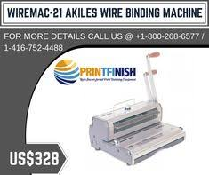 Description: <b>WireMac</b>-<b>21</b> Akiles <b>Wire Binding</b> Machine, <b>WireMac</b>-<b>21</b> ...