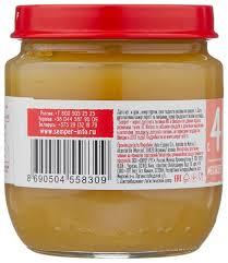 Купить <b>Пюре Semper яблоко</b> (с 4 месяцев) 125 г, 1 шт по низкой ...