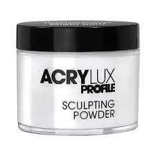 acrylux profile professional sculpting powder bright white 0212786 gellux acrylux profile professional sculpting powder bright white 45g 0212786