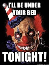 scary clown memes | quickmeme via Relatably.com