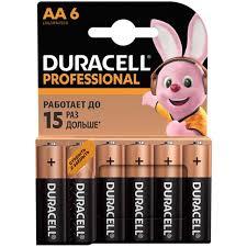 Купить <b>Батарея Duracell</b> Professional AA <b>LR6</b>/<b>MN1500</b> 6 шт. в ...