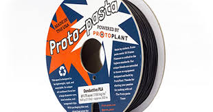 Proto-Pasta <b>Conductive</b> PLA - 1.75mm (0.5kg) | MatterHackers