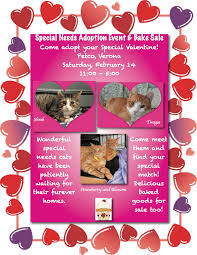 special needs adoption event bake paws montclair v flyer fundraiser