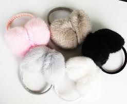 Image result for Fluffy Ear Muffs.: