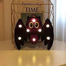 ToDIDAF <b>Halloween LED</b> Night Light, Bat Spider Skull Pumpkin ...