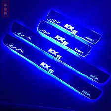 <b>Накладки на пороги KX5</b> с подсветкой LED для KIA Sportage IV ...