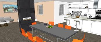 tech kitchen interior design perspective view sketchup for kitchen bath interior design
