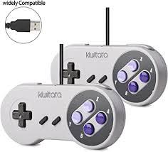 2X <b>SNES Classic USB</b> Controller Gamepad, kiwitatá Retro <b>USB</b> ...