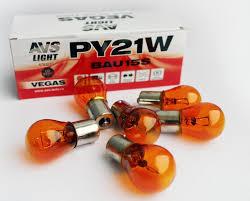 """<b>Лампа AVS Vegas</b> 24V. PY21W(BAU15S)""""orange"""" BOX(10 шт ..."""