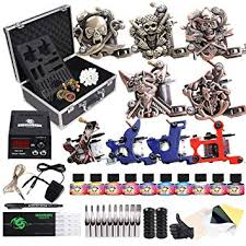 Dragonhawk Complete Tattoo Kit with Case, Beginner ... - Amazon.com