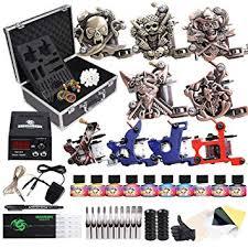 Amazon.com: <b>Dragonhawk</b> Complete <b>Tattoo</b> Kit with Case, <b>Beginner</b> ...