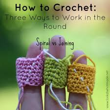 How to Crochet in the Round: Spiral vs Joining