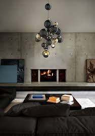 atomic age design inspiration ideas try a bold living room lighting idea with this contemporary descendant bold living room furniture