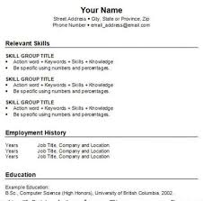 to do a resume step by step  tomorrowworld coto do a resume step