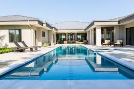 Design Swimming Pool House   U shaped House Plans With Pool    Design Swimming Pool House   U shaped House Plans With Pool