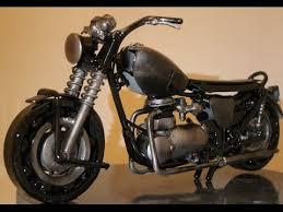 <b>Vintage Motorcycle</b> made from recycled metal, Weld Scrap metal ...