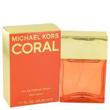 <b>Michael Kors Coral</b> Eau De Parfum Spray 50ml - Buy Online in ...