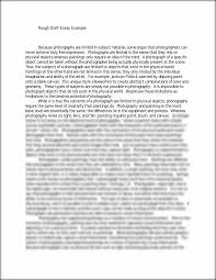 what is a rough draft essay sample rough draft essay