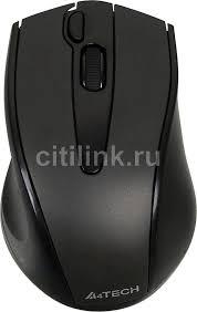 Купить Мышь A4 V-Track <b>G9</b>-<b>500F</b>-<b>1</b>, беспроводная, USB, <b>черный</b> ...