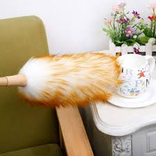 Soft Efficient Wool <b>Dust Brush Household Duster Dusting Cleaning</b> ...