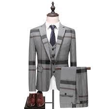 Wool Green Ckeck Tweed <b>Custom Made Men</b> suit Blazers Retro ...