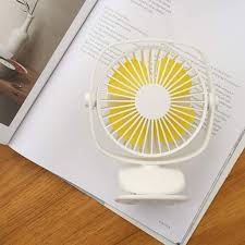 <b>Mini</b> Multifunctional USB Clip <b>Portable</b> Desk Fan Quiet Operation 3 ...