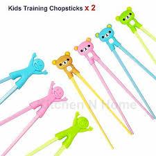<b>2 Pairs</b> of <b>Kids chopsticks</b>, Learning Training <b>Chopsticks</b>, Assorted ...