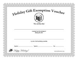 buy nothing day journal of the mental environment holiday gift exemption voucher