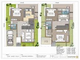 Duplex House Elevation Designs  Duplex House Plan And Elevation    South Facing Floor Plans X
