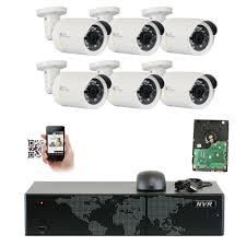 GW Security <b>8 Channel</b> 4K NVR <b>HD</b> 2592 x <b>1920P</b> 5MP PoE ...